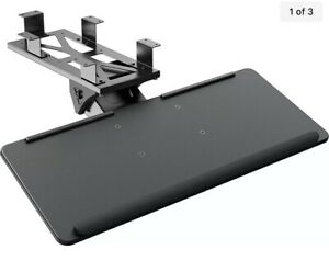HUANUO Keyboard Tray Under Desk, Sliding Pull-Out & Adjustable Height Extension
