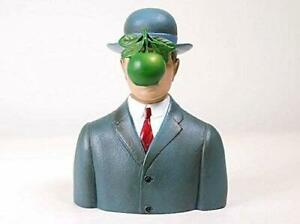 Bowler Hat Man with Green Apple Son of Man figurine by Parastone