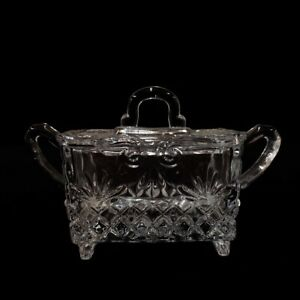 Sugar Box Godinger Bohemian Crystal Baroque