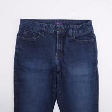 NOT YOUR DAUGHTERS JEANS USA Tummy Tuck Straight Jeans Med Wash Denim Womens 8