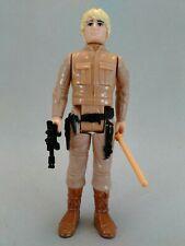 1980 vintage Luke Besbin w/repros Star Wars action figure Kenner complete weapon