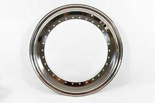 """Bbs 15"""" X 3.5"""" Radinox Dishes Outer Lips 30 Bolt Hole Rs Rm"""