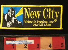 NEW YORK NEW CITY VIDEO & STAGING Advertising Patch (Fashion Shows Theatre) 62E3
