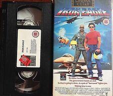 VHS VIDEO TAPE PAL ~ IRON EAGLE
