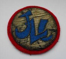 JLC  japanese logistics command    bullion cloth patch japanese made 50-53