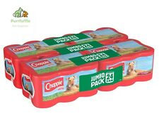 24 x 412g CHAPPIE TINS FAVOURITES Wet Dog Meat Food Canned / Tinned Jumbo Pack