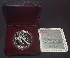 1991 Royal Canadian Mint 'Frontenac' Silver Proof Canada Dollar (B1)