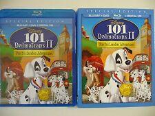 101 Dalmatians II: Patch's London Adventure (Blu-ray/DVD w/slipcover (NEW)