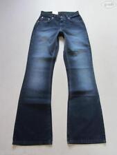Hosengröße 34 L34 Damen-Jeans mit mittlerer Bundhöhe