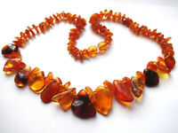 Natural Baltic Amber Necklace. 17''
