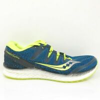 Saucony Mens Freedom ISO 2 S20440-3 Blue Running Shoes Lace Up Low Top Size 11
