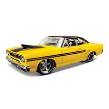 Maisto 1:24 1970 Plymouth GTX Diecast Model Racing Car Vehicle New In Box