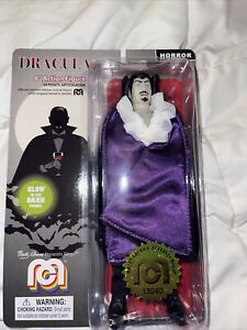 """2019 Dracula Glows in the Dark Mego Monsters Wave 6 Horror 8"""" Action Figure"""