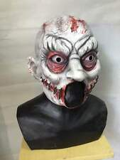 Zombie Clown Halloween Mask Latex Scary Clown IT Twisty Horror Fancy Party Masks