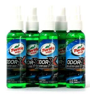5 Turtle Wax 2 Oz Odor-X Kinetic New Car Scent Seek & Destroy Up To 30 Days