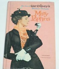 VTG Mary Poppins Authorized Walt Disney Motion Picture Edit 1964 HC Acceptable