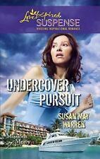 Undercover Pursuit (Love Inspired Suspense), Susan May Warren, 0373444400, Book,