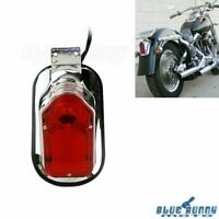 Motorcycle Tombstone Brake Taillight W/License Plate Bracket For Harley Davidson