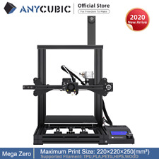 ANYCUBIC Mega Zero FDM Stampante 3D Double Gear Extrusion 220*220*250mm PLA TPU