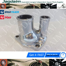 JAGUAR THERMOSTAT HOUSING / WATER OUTLER PIPE MARK 10 420G E-TYPE C23233