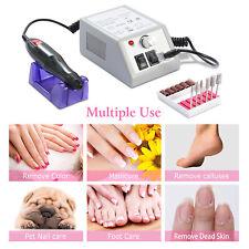 PROFESSIONAL ELECTRIC NAIL FILE DRILL Manicure Tool Pedicure Machine Set kit