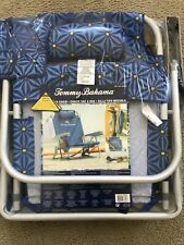 New listing Tommy Bahama Backpack Cooler Beach Chair with Pouch & Towel Bar Brand New 2020