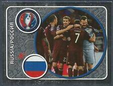 PANINI EURO 2016- #123-RUSSIA-SILVER FOIL