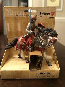 SCHLEICH 70056 Knight On Horse with Sword - NEW NIB