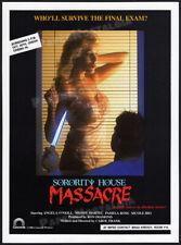 SORORITY HOUSE MASSACRE__Original 1986 Trade AD / screening promo__WENDY MARTEL