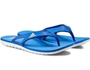Mens Adidas Calo 5 Graphic Flip Flops Slides Sandals Thong Slippers - B40442