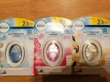 Febreze 2 in 1 Bathroom / Small Spaces Air Fresheners Pick Your Fragrance