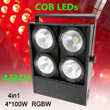 4*100W COB Audience Light For DJ Stage Light 4in1 RGBW LED Blinder Par Light NEW