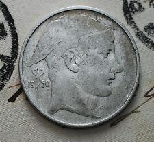 1950    Belgio Belgique Belgie    20   franc   francs   silver