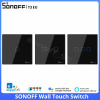 Sonoff T3 EU Smart Wall Touch Switch Wireless RF Wifi APP Remote Voice Control