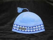 Columbia Youth Blue Purple Fleece Knit Winter Hat Beanie Cap Ski Snow Play Kids