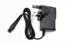 UK AC/DC Charger Power Adapter Cord Lead For Braun BT3040 Beard / Hair Trimmer