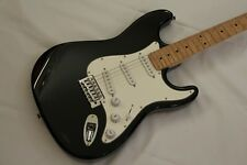 Indiana Stratocaster Type Electric Guitar in Black