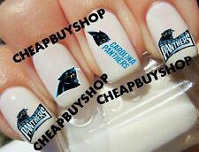 NFL Carolina Panthers Football Logos》Tattoo Nail Art Decals