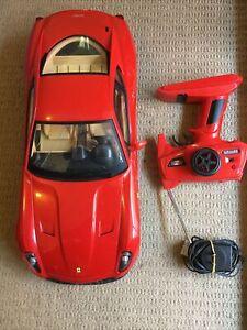599 GTB FIORANO 1:10 Scale r/c Car FERRARI MJX Remote Control Battery & Charger