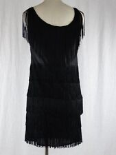 California Costumes Fringed Women's Fashion Flapper Costume Black Size Small