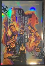 Inglourious Basterds Print Brad Pitt Tarantino / Signed Joshua Budich x/75 Foil
