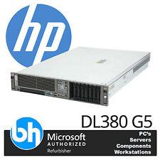 HP ProLiant DL380 G5 2 x Quad Core E5420 2.5GHz 16GB RAM P400 Raid Rackable 2U