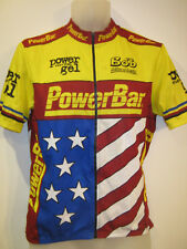 POWERBAR Power Gel Shirt Jersey Adult Cycling Cycle Bike Ciclismo 40""