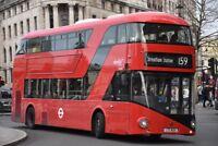 LT625 LTZ 1625 ABELLIO NEW ROUTEMASTER 30TH DEC 2017 6x4 London Bus Photo B