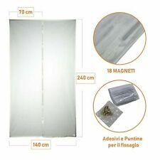 Zanzariera Magnetica 140 x 240 o 120 x 220  Finestre Balcone Universale Calamita