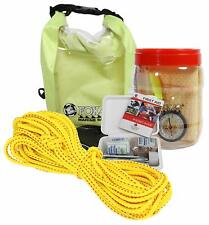 Fox 40 Padders Safety Kit! Kayak Canoe Small Boat First Aid Rope Wet Dry Bag