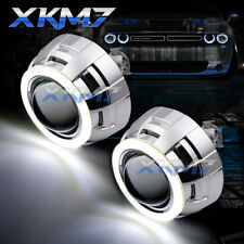 3.0'' HID Bi-Xenon Projector Lens LED COB Angel Eye Halos For Headlight Retrofit