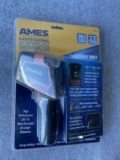 """Ames Professional Thermometer 20:1 infrared laser. Large 2.1"""" Color Screen"""
