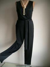 Ashley Brooke Overall Gr.36,38,40 Braun Damen Anzug Jumpsuit Stretch Party L32