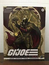 Cobra Commander Snake Supreme Deluxe Figure GI Joe Classified Hasbro Pulse RARE
